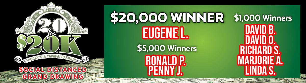 20K Winners